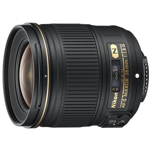"Nikon - 28 mm - f/1.8 - Wide Angle Lens for Nikon F-bayonet - 67 mm Attachment - 0.22x Magnification - 2.9""Diameter 0"