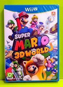 (現金價) 日本代訂 Wii U 超級瑪利歐 3D 世界 (純日版)