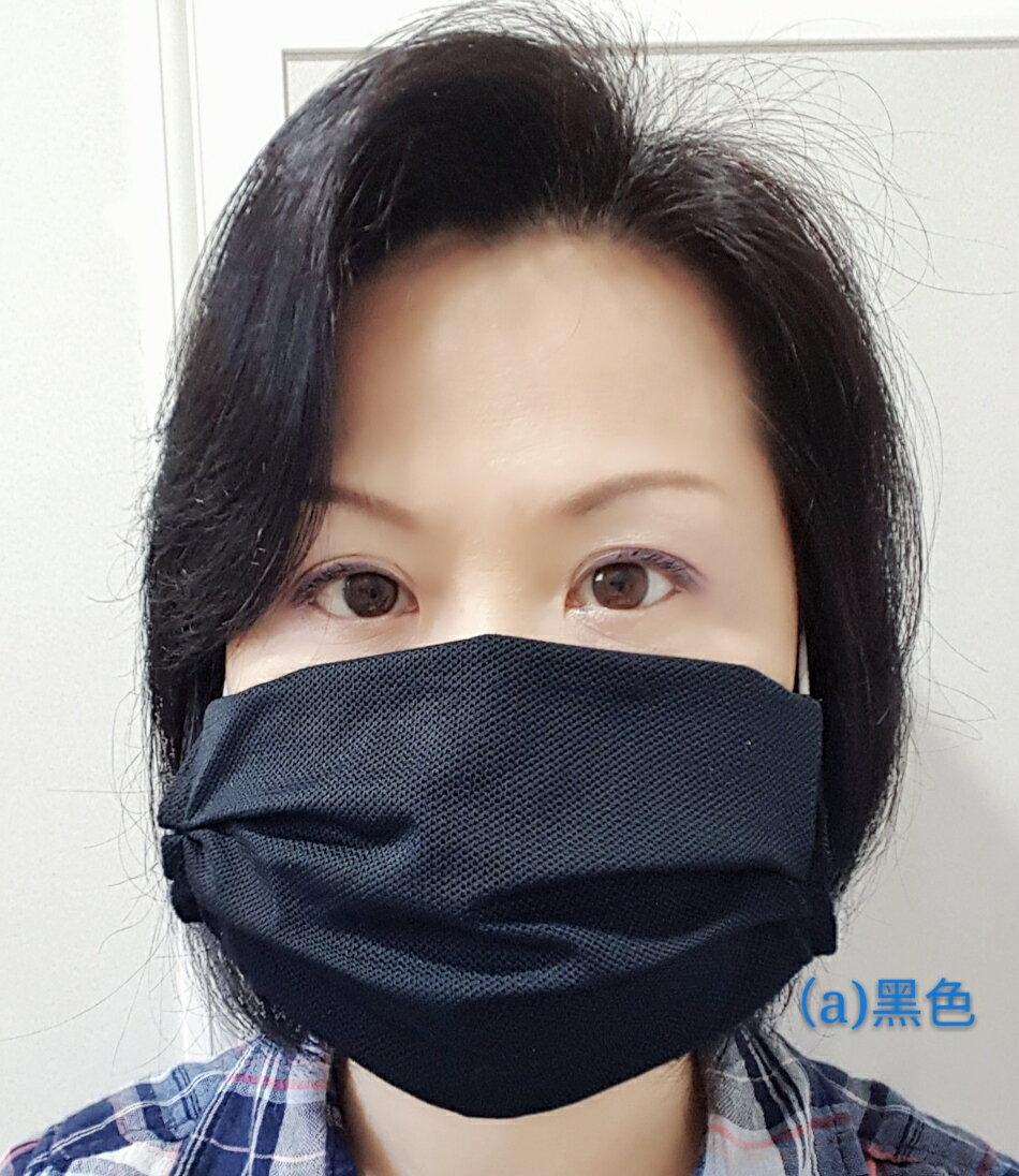 防疫商品 口罩保護套  彈性透氣 黑色  輕鬆吃