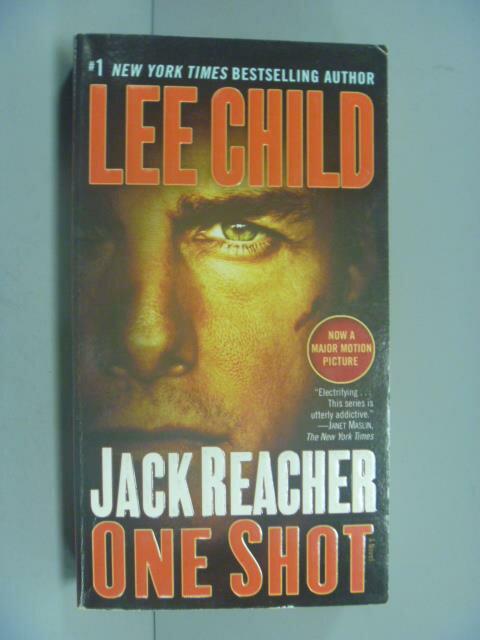 ~書寶 書T1/一般小說_GEE~Jack Reacher: One Shot  Movi