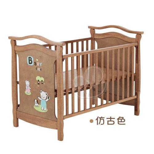 BabyCity伊莎德倫大床(空床)(不含寢具)【悅兒園婦幼生活館】
