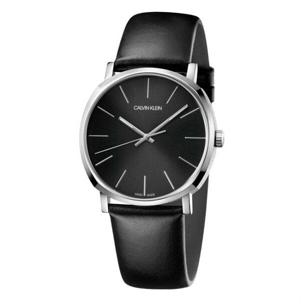 Calvinklein卡文克萊潮流系列(K8Q311C1)魅力簡約風腕錶銀黑40mm