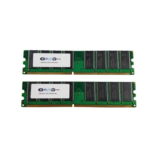 1Gb (2X512Mb) Ram Memory Compatible With Dell Optiplex Gx270 Series Desktop By CMS 0