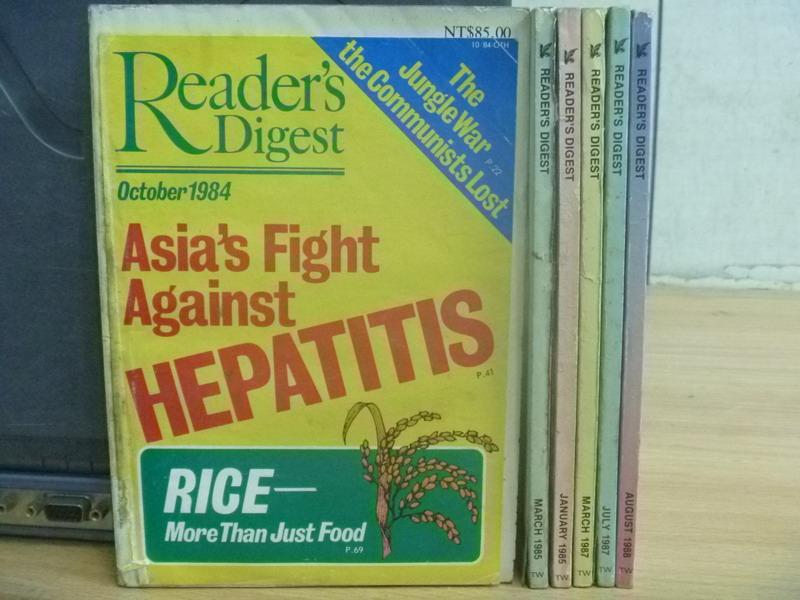 ~書寶 書T6/雜誌期刊_NLS~Reader #x27 s Digest_1984  1