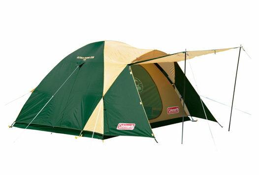 【鄉野情戶外專業】 Coleman |美國| 4-5人Cross露營帳篷 / 蒙古包 / 延伸前庭空間 / 270x270cm_CM-7132JM000