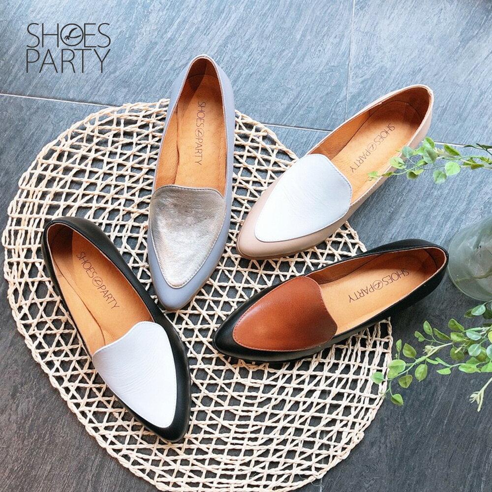 【P2-19427L】真皮配色復古爵士鞋_Shoes Party 0