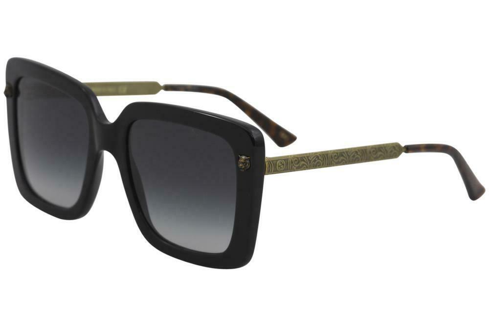 53dd96663 Fashion Deals: Gucci GG0216SA Squared Women Sunglasses 55mm ...