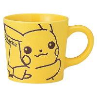 Pokemon:精靈寶可夢到日本製 神奇寶貝 寶可夢 皮卡丘 陶瓷馬克杯 杯子水杯茶杯咖啡杯湯杯 260ml 日本進口正版 025623