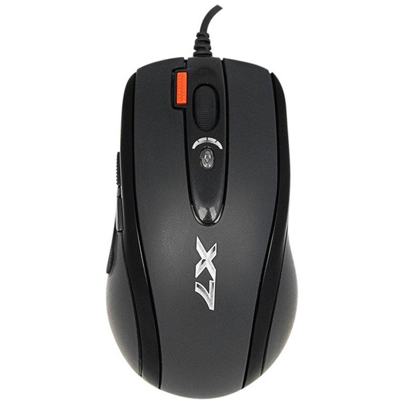 【迪特軍3C】現貨 A4 TECH X7 火力王 滑鼠 USB 黑 雙飛燕 X-718B 劇本編程免驅執行
