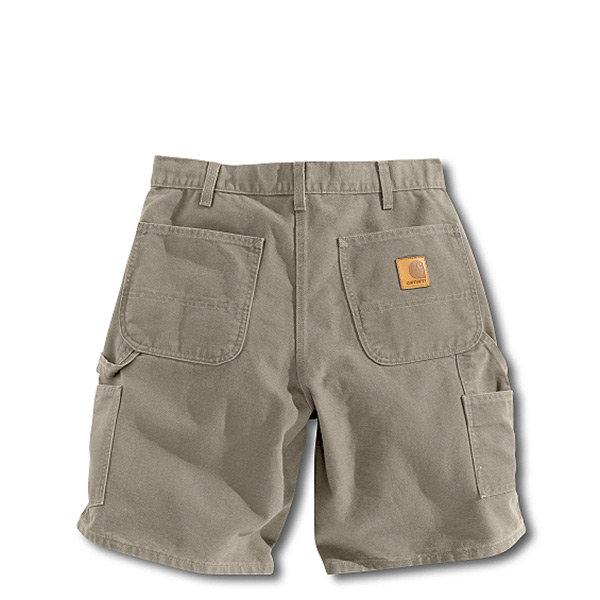 【EST】CarharttWashedDuckWorkShort美版口袋短褲灰[CA-0002-007]H0808