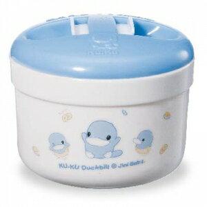 『121婦嬰用品館』KUKU 密封式兩用粉撲盒 1