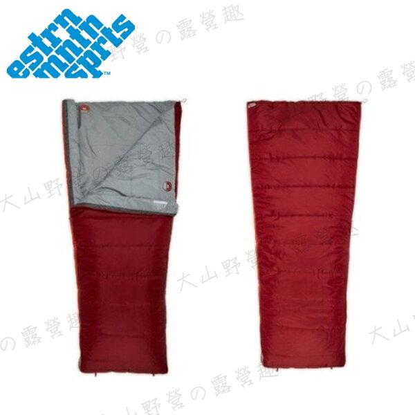 【露營趣】中和安坑美國EMSS11W0316信封型睡袋-3度C保暖睡袋纖維睡袋露營睡袋全開式睡袋出國打工遊學