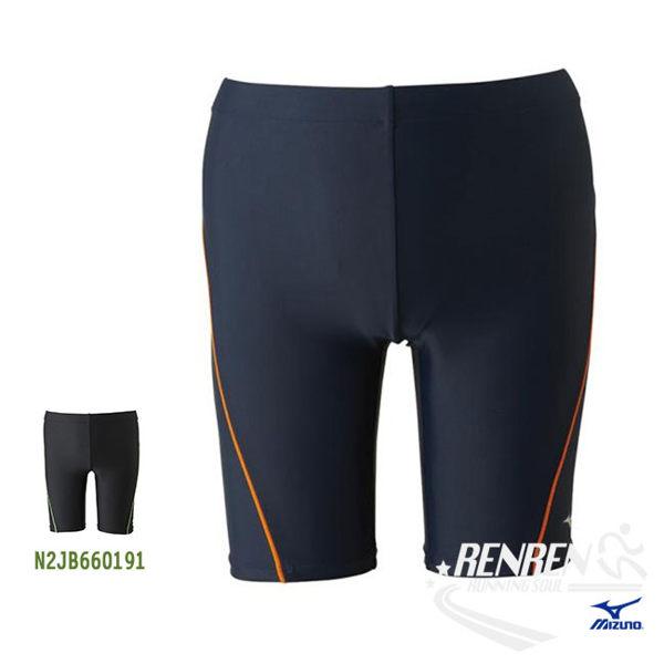 美津濃MIZUNO男泳褲(丈青淺藍)FITNESS泳褲N2JB660182【胖媛的店】
