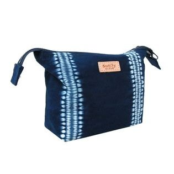 好客HAOKE:《好客-SunnyBUBAO杉林布包》藍染手作手拿包(免運商品)_A051007