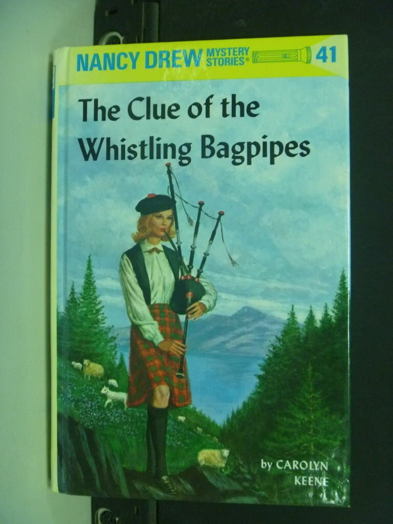 【書寶二手書T7/兒童文學_NSR】The Clue of the Whistling Bagpipes_Keene