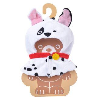 【真愛日本】17052600015 專賣店大學熊角色服裝-101忠狗BAJ 迪士尼專賣店限定 娃娃衣服 裝飾
