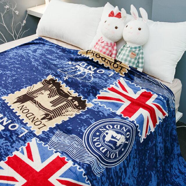 【2入免運價350$】英倫風法蘭絨毯(2入)共五種顏色可選  尺寸135cmX190cm (正負10cm) 5