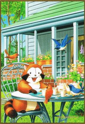 150片 小浣熊 - 下午茶