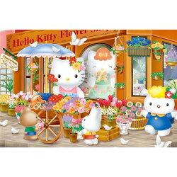 Hello Kitty花店拼圖1000片