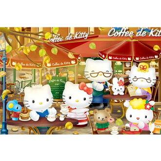 Hello Kitty左岸喝咖啡拼圖1000片
