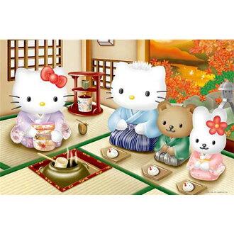 Hello Kitty&Dear Daniel秋之茶會拼圖1000片