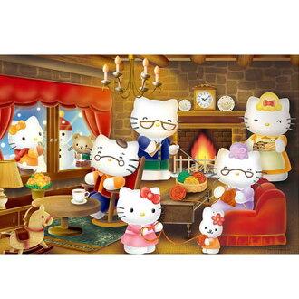 Hello Kitty冬季團圓拼圖1000片