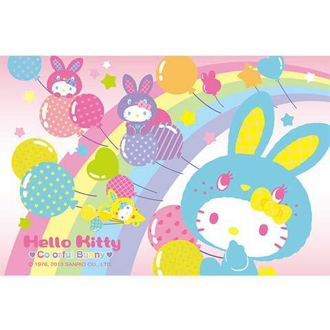 Hello Kitty彩虹氣球拼圖204片