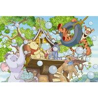小熊維尼周邊商品推薦Winnie The Pooh樹屋吹泡泡拼圖1000片