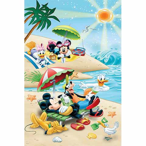 Mickey Mouse&Friends陽光海灘拼圖1000片