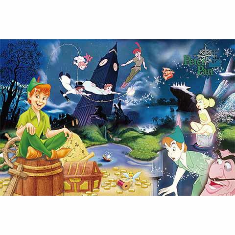 Peter Pan小飛俠彼得潘拼圖1000片
