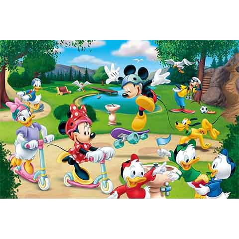 Mickey Mouse&Friends運動公園拼圖1000片