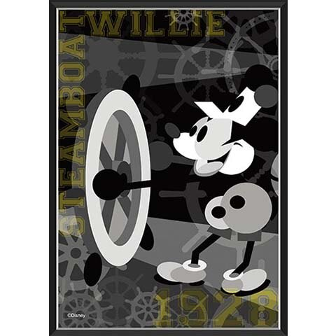 Mickey Mouse船長威利拼圖108片