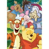 小熊維尼周邊商品推薦Winnie The Pooh親密的朋友拼圖108片