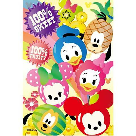 Mickey Mouse  Friends水果家族拼圖204片