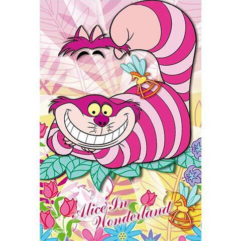 Alice In Wonderland妙妙貓拼圖204片