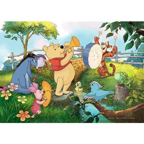 Winnie The Pooh練習曲拼圖300片 - 限時優惠好康折扣