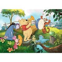 小熊維尼周邊商品推薦Winnie The Pooh練習曲拼圖300片