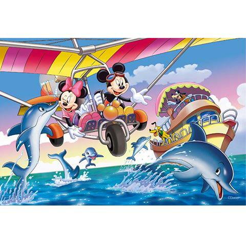 Mickey Mouse&Friends賞鯨之旅拼圖300片