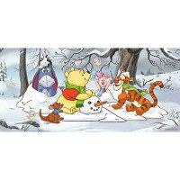 小熊維尼周邊商品推薦Winnie The Pooh堆雪人拼圖510片