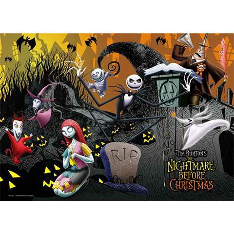 Nightmare Before Christmas午夜的歡樂拼圖520片