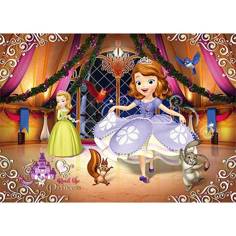 Sofia the First圓舞曲拼圖520片