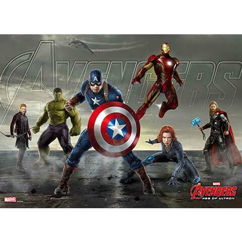 Avengers Movie 2 復仇者聯盟2:奧創紀元 2 拼圖108片