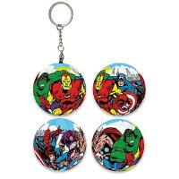 漫威英雄Marvel 周邊商品推薦Marvel Comics經典漫畫球形拼圖鑰匙圈24片