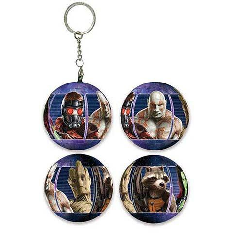 Guardians of the Galaxy Movie 星際異攻隊球形拼圖鑰匙圈24片 - 限時優惠好康折扣