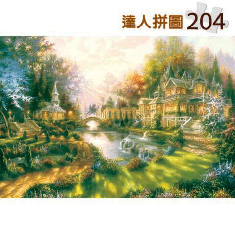 204片達人拼圖 西洋油畫-光輝