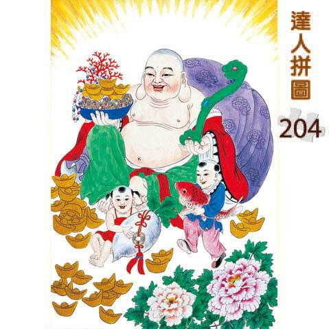 204片達人拼圖 名畫系列:慕夏-水果藝術家