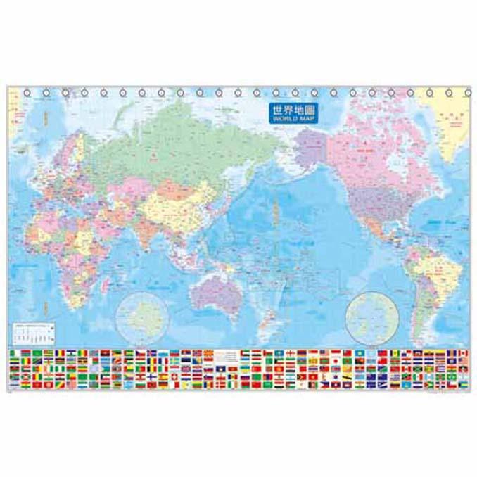520片拼圖 世界地圖