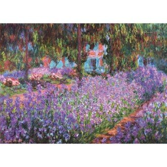 520片夜光拼圖 名畫系列:梵谷- 花園裡的鳶尾花