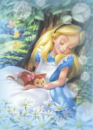 500片  愛麗絲在樹下 ZZZ