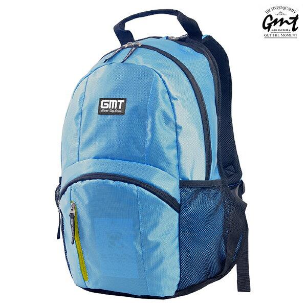 E&J【011011-03】免運費,GMT挪威潮流品牌 專業電腦背包 淺藍 附15吋筆電夾層;登山包/雙肩豬鼻包